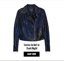 Sacha Jacket in Dark Night