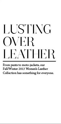 Lusting Over Leather