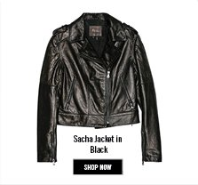 Shop Now - Sacha Jacket in Black