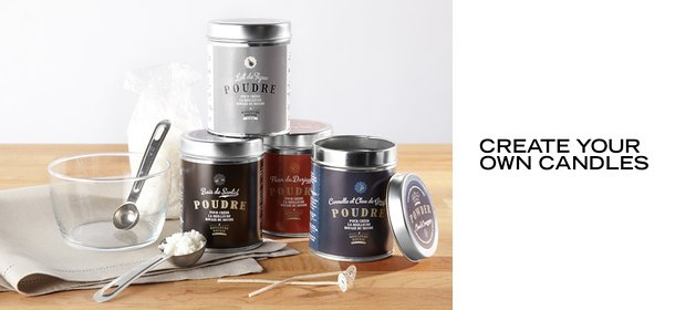 CREATE YOUR OWN CANDLES, Event Ends September 18, 9:00 AM PT >