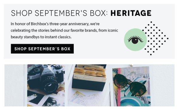 Shop September's Box: Heritage