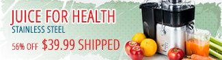 JUICE FOR HEALTH STAINLESS STEEL. 56% OFF $39.99 SHIPPED. - NEWEGGFLASH