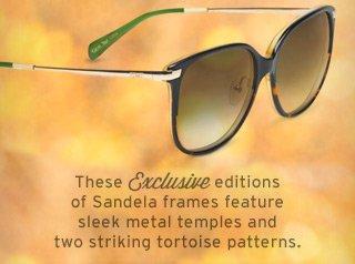 Sandela Black Tortoise Fade
