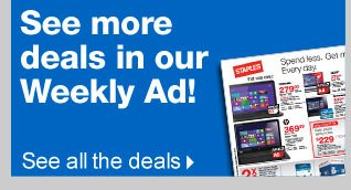 See  more deals in our Weekly Ad! See all the deals.