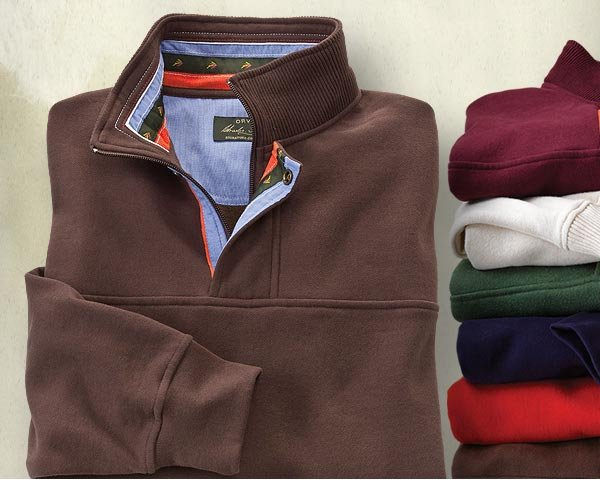 Find out why our Signature Sweatshirt is a longtime Orvis customer favorite. Now in new colors for fall.   $79
