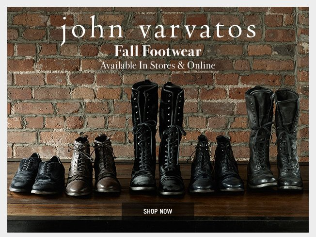 Fall Footwear - Available In Stores & Online