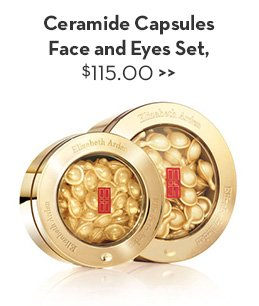 Ceramide Capsules Face and Eyes Set, $115.00.