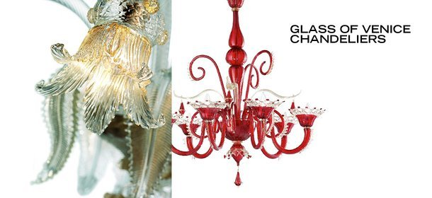 GLASS OF VENICE CHANDELIERS, Event Ends September 20, 9:00 AM PT >