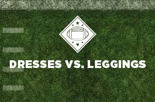 Dresses Vs. Leggings