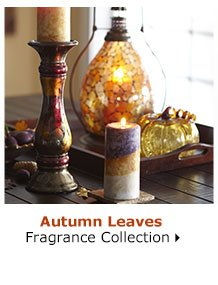 Autumn Leaves Fragrance Collection
