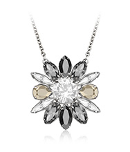 Swarovski By Shourouk Small Black Pendant
