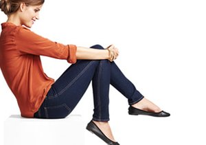 Perfect Match: Skinny Jeans & Ballet Flats