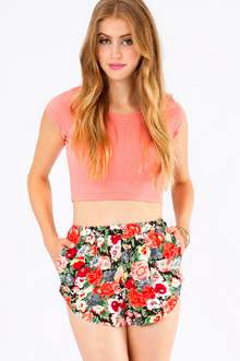FLEUR THE LOVE OF SHORTS 29