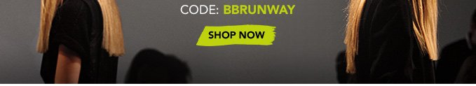 Code: BBRUNWAY »SHOP NOW