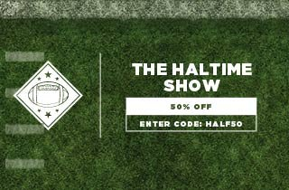 Halftime Show: 50% Off