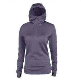 Women's Mea Silken Fleece Half Zip