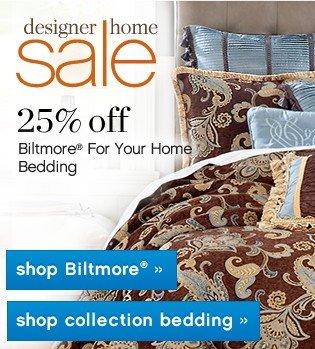 Designer Home Sale. 25% off Entire Stock. Shop now.