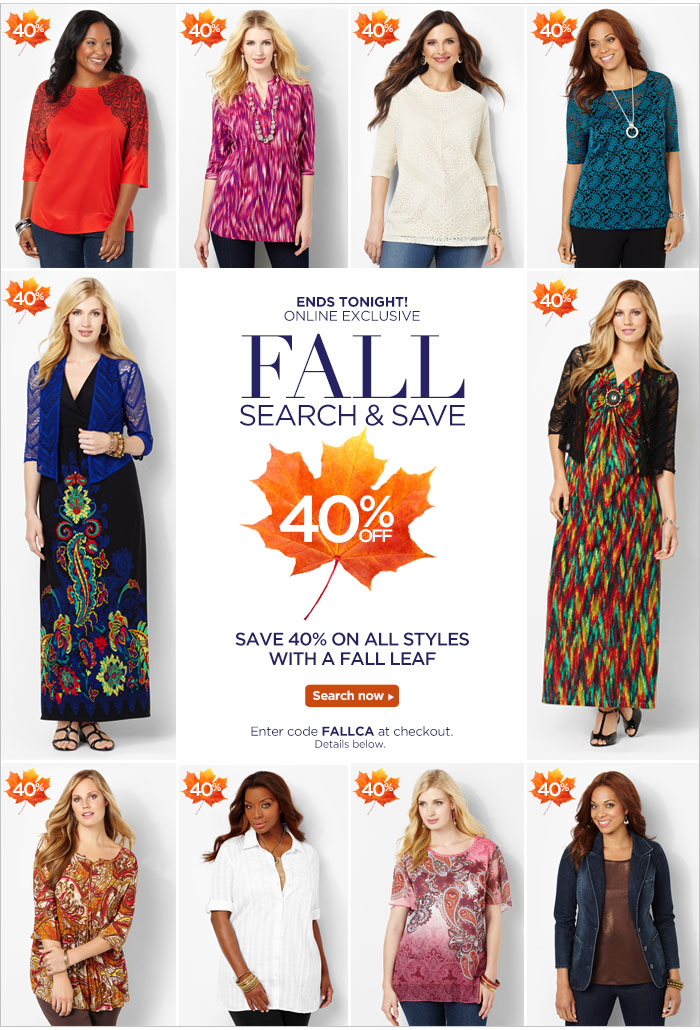 Fall Search & Save