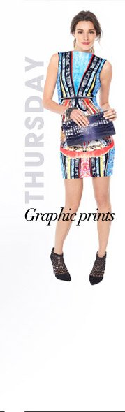 THURSDAY – Graphic prints
