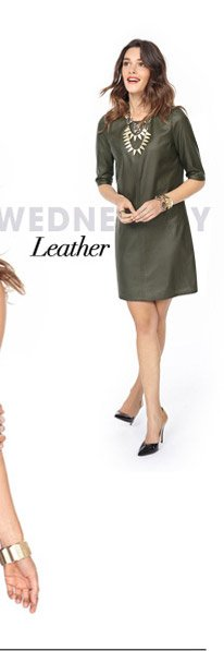 WEDNESDAY – Leather