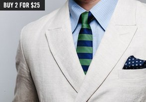 Shop 2 for $25 Ties