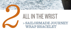 Sailormade Journey Wrap Bracelet
