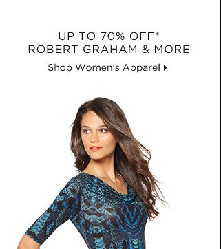 Up To 70% Off* Robert Graham & More