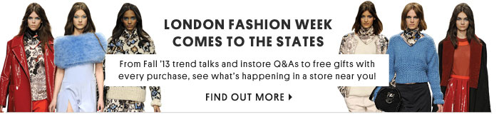 London Fashion Week comes to the states - Find out more