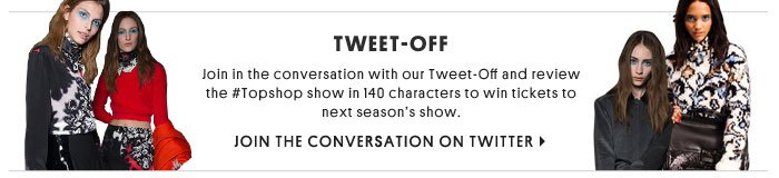 Tweet-off - Join the conversation on Twitter