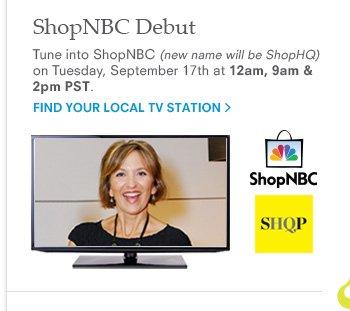 ShopNBC Debut