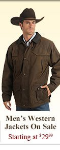 All Mens Western Jackets on Sale