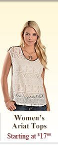 All Womens Ariat Tops on Sale