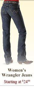 All Womens Wrangler Jeans on Sale