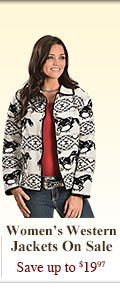 All Womens Western Jackets on Sale