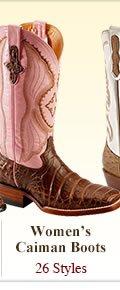 Womens Caiman Boots