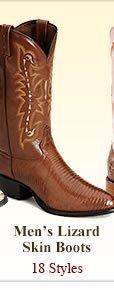 Shop Mens Lizard Skin Boots