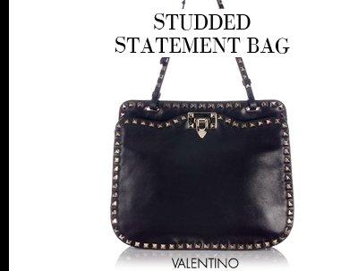 STUDDED STATEMENT BAG - VALENTINO