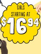 GIRLS STARTING AT $16.94