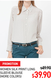 WOMEN SILK PRINT SHIRT