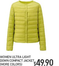 WOMEN ULD COMPACT JACKET