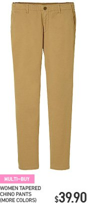 WOMEN CHINO PANTS