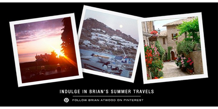 Follow Brian Atwood On Pinterest