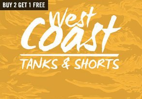 Shop West Coast Weather: Tanks & Shorts
