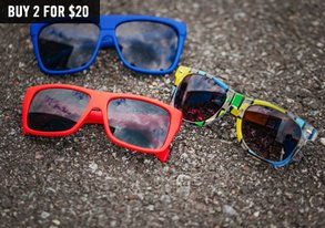 Shop Sunglasses Blowout: Get 2 for $20