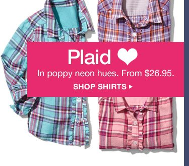 Plaid ♥ | SHOP SHIRTS
