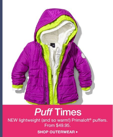 Puff Times | SHOP OUTERWEAR