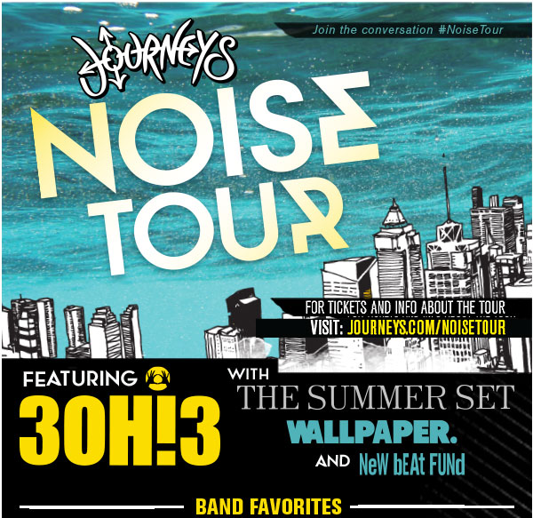 The Journeys Noise Tour Fall 2013 feat. 3OH3!