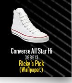Band Shoe Pick: Ricky from Wallpaper.