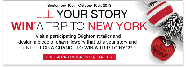 Tell Your Story - Win A Trip To New York