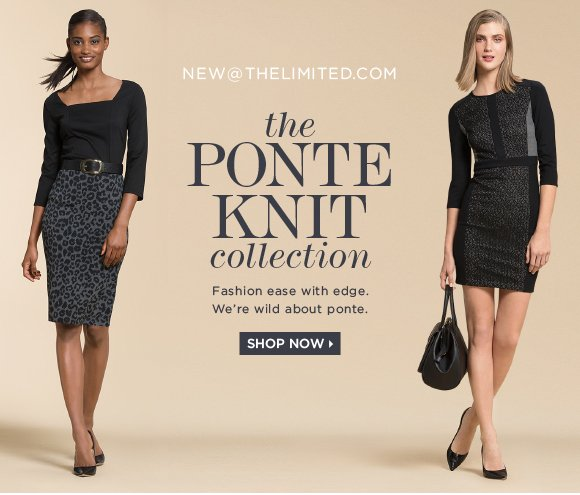 THE PONTE KNITE COLLECTION